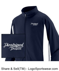 Pinstriped Prospects Jacket Design Zoom