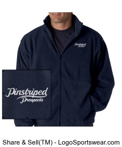 Pinstriped Prospects Fleece Design Zoom